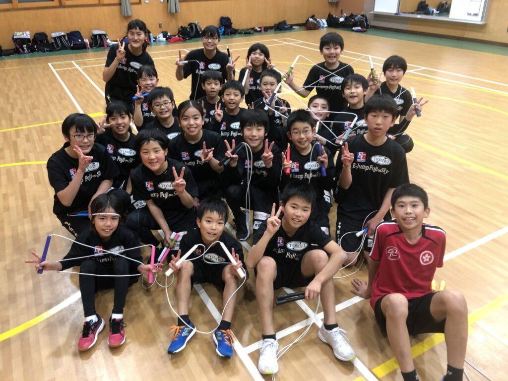 E-Jump Fuji メンバーの子供たち